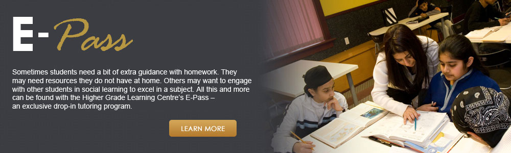 Higher Grade Learning Center